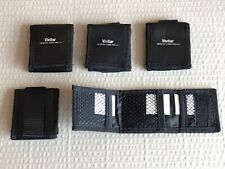 5x Vivitar Memory Card Case - With Belt Loop - Hold 3 Cards Each - SD Holder