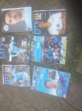 Six #Manchester City football programmes for a penny!