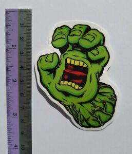 2x Santa Cruz Hulk Skateboards Sticker Vinyl Phone Laptop Notebook Decal