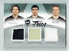 10-11 UD The Cup Trios  E Tangradi-A Pechurskiy-N Johnson  /25  Jerseys  Rookies