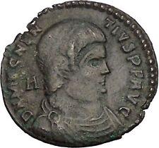 Magnentius Usurper 350-353AD Rare Authentic Ancient Roman Coin Victories  i52096