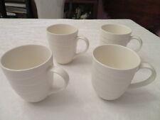 Set of 4 Jamie Oliver Porcelain White Embossed Waves Coffee Tea Mug Cup & Jamie Oliver Dinnerware \u0026 Serving Dishes | eBay