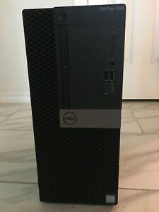 Dell 7060 Mini Tower i7-8700 3.2Gh 16GB RAM 1TB HDD Windows 10 office19