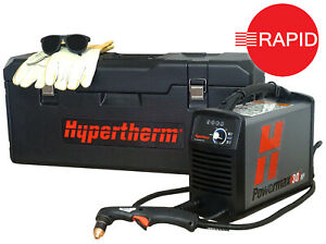 Hypertherm Powermax 30XP Plasma Cutter with Hand Torch & Carry Case,110 & 230v