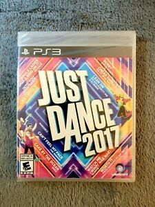 Just Dance 2017 PlayStation 3 PS3 NEW SEALED! Free USA Shipping