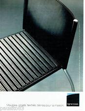 PUBLICITE ADVERTISING  026  2002  Ligne Roset  sièges meubles