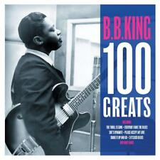BB KING 100 HITS ON 4 CDS THRILL IS GONE EVERYDAY I HAVE THE BLUES