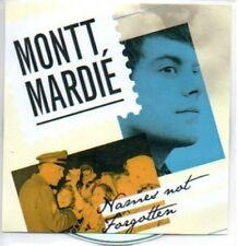 (387H) Montt Mardie, Names Not Forgotten - DJ CD