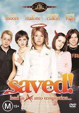 Saved DVD Mandy Moore Jena Malone Macaulay Culkin Patrick Fugit Eva Amurri