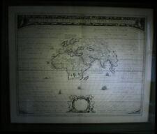 [GEOGRAPHIE PLANISPHERE MAPPEMONDE MAP] JANSSON - Orbis Terrarum. 1650