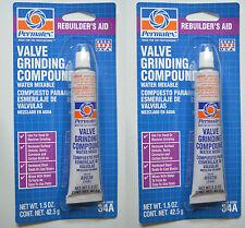 Permatex 80036 (34A) VALVE GRINDING COMPOUND 2 pcs 1.5 oz. 2 Tubes = 3 OZ.
