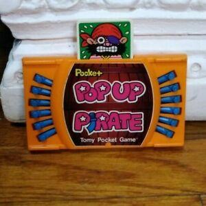 Vintage Tomy Pocket Pop Up Pirate Game Handheld Rare