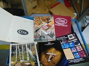 SET OF CASE CATALOGS FOR Early 80's,Late 80's,95,96,Centennial, Household  SET 8