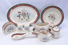Royal Seasons Platter Serving Bowl+ Lot of 9