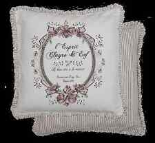 Kissenhülle Clayre & Eef Kissen Shabby  50x50 Landhaus Romantik Rose