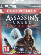 ASSASSIN'S CREED REVELATIONS (ESSENTIALS). JUEGO PS3. PAL-ESP. NUEVO,PRECINTADO.