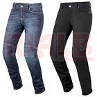 Jeans Moto Donna Alpinestars DAISY WOMEN'S DENIM Pants Pantaloni con Protezioni