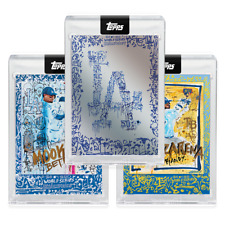 2020 Topps X Gregory Siff  Bundle- Cards 1-3 Dodgers World Series -Presale-