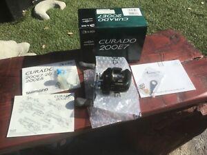 """SHIMANO CURADO 200E7 NEW IN THE BOX """"NOS"""""""
