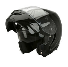 CASCO SCORPION EXO 3000 NEGRO BRILLO  ++TALLA S++