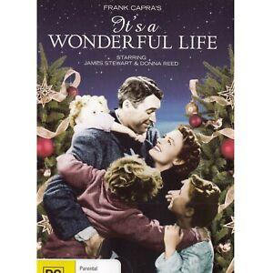 It's a Wonderful Life (DVD, 1946) PAL Region 4 (stars James Stewart, Donna Reed)