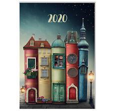"Design Terminkalender / Buchkalender 2020 DIN A4 - 1 Tag=1 Seite - ""Magic City"""