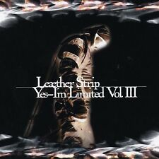 LEAETHER STRIP Yes, I'm Limited Vol. III LIMITED 2CD Digipack 1998