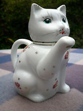 Vintage Retro Chinese Lucky Cat Decorative Teapot Feng Shui China