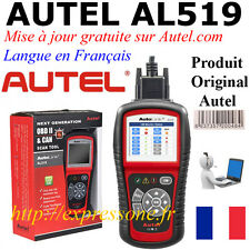 Valise Autel AL519 diagnostique multimarque OBD OBD2 Renault Peugeot Citroën