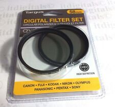 58mm Circular Polarizing + UV CPL CIR-PL Glass Lens Filter 58 mm Multi-Coated MC
