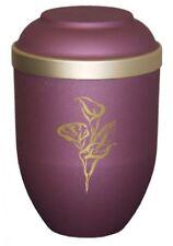 Crémation et urnes funéraires roses