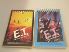 Vintage E.T.  Extra Terrestrial 2 mini memo pads