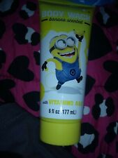 MINION BODY WASH BANANA SCENTED AGES 3+ DESPICABLE ME 7 OUNCES