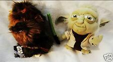 Star Wars Yoda & Chewbacca Plush Toys (7 Inches)