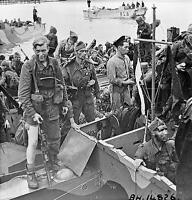 7x5 Brillo Foto ww462E Guerra Mundial 2 II WW2 Desembarco Británico Comandos