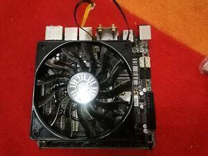 Gigabyte GA-Z77N-WIFI LGA 1155 ITX Motherboard Wifi Intel i5 2400 4GB Cryorig C7