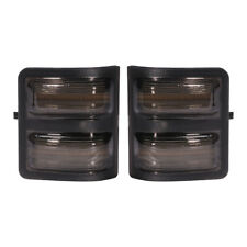 New Set of 2 Tow Mirror Smoked Turn Signal Lights for Ford Super Duty 08-16 Pair