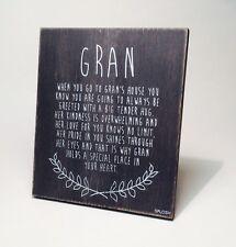 Gran Poem Christmas Gift Ideas for Her & Grandparents VIN501