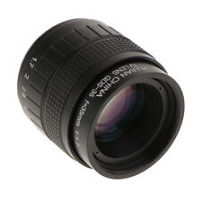 35mm F1.7 Large Aperture Fixed Focus Length Lens Manual for Canon Nikon Sony