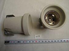 1 presa E40 porcellana sulla gamba di fixarion (ref H68)