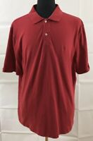 Southern Tide Mens XL 42 Tailored Fit Polo Shirt Short Sleeve Red