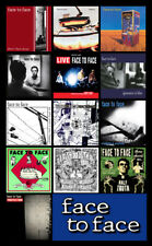 "FACE TO FACE album cover discography magnet (3"" X 4.5) strung out offspring nofx"