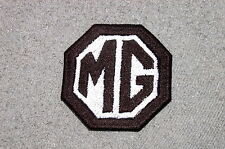MG Car  Embroidered  Patch, midget, convertible, British, vest, jacket