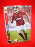 Panini Football League 2014 carte card soccer Star+ Manchester U #4 Phil Jones