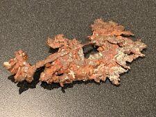 Natural Copper Ore Specimen - 127 grams - Native Michigan High Grade Nugget