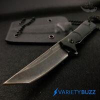 "5"" Sweet KISS Tanto Fixed Blade Tactical Slim Neck Knife Sheath G10 TAC-FORCE"