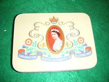 Vintage Cadbury Sweet Tin Celebrating Queen Elizabeth II Coronation 2ndJune 1953