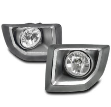 15-16 GMC SIERRA 2500 HD TRUCK BUMPER DRIVING FOG LIGHT LAMP CHROME W/BEZEL+BULB