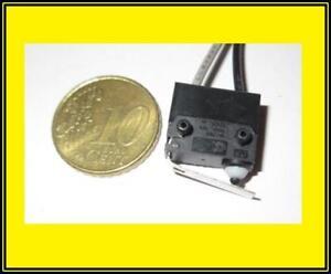 Miniature Mikro Schalter Micro Switch Hebel Öffner 3A 125VAC 2 Stück