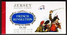 S147) Jersey MH 200. anniversaire FRZ Révolution 1989 lignes heftchenblätter